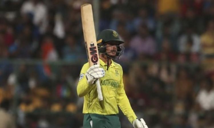 तीसरे टी-20 में क्विंटन डी कॉक ने 79 रनों की तूफानी पारी खेलकर बनाए कई दिलचस्प रिकॉर्ड Images