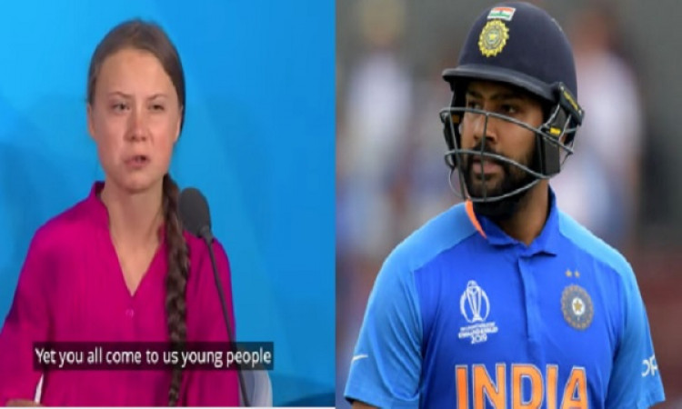 You're an inspiration: Rohit Sharma lauds Greta Thunberg Images