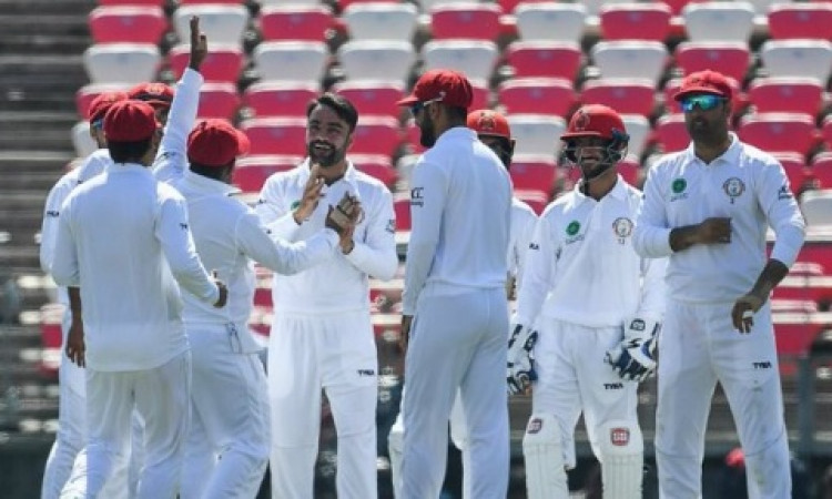 Rashid leads way as Afghans take control against B'desh Images