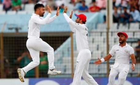 अफगानिस्तान की बांग्लादेश पर शानदार जीत में कप्तान राशिद खान ने बनाया वर्ल्ड रिकॉर्ड Images