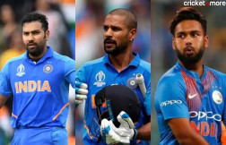 Rohit, Shikhar and pant