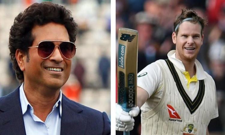 Sachin Tendulkar and  Steve Smith