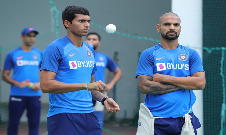 Shikhar Dhawan and Navdeep Saini