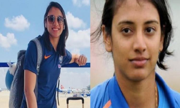 टी-20 इंटरनेशनल में स्मृति मंधाना ने रचा इतिहास, ऐसा करने वाली पहली भारतीय क्रिकेटर बनी ! Images