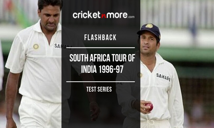 Flashback South Africa Tour Of India 1996-97