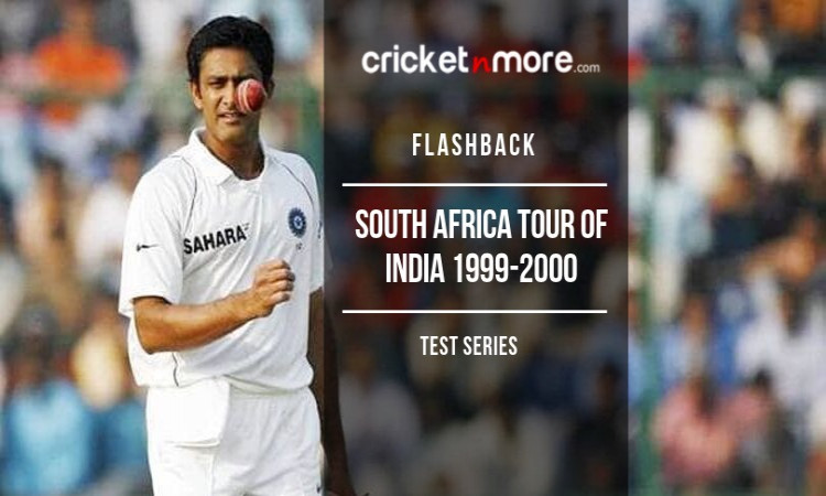 South Africa Tour of India 1999-2000 Flashback