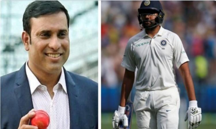 टेस्ट में ओपनिंग करने से पहले रोहित शर्मा को वीवीएस लक्ष्मण ने दी सलाह, कहा ऐसी गलती ना करें ! Image