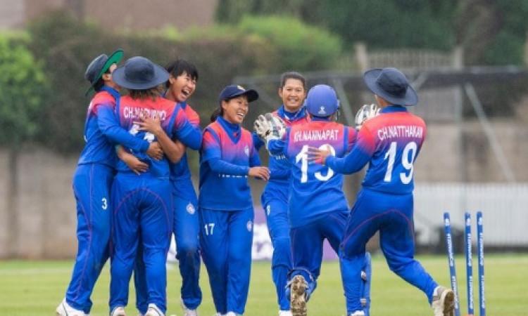 थाईलैंड की महिला क्रिकेट टीम ने रचा इतिहास, पहली बार टी-20 महिला वर्ल्ड कप में किया क्वालीफाई Images