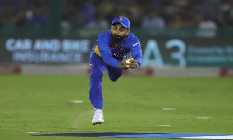 Virat Kohli catch