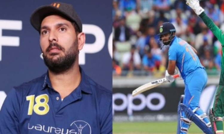 Pant is work in progress, don't suppress him: Yuvraj Images