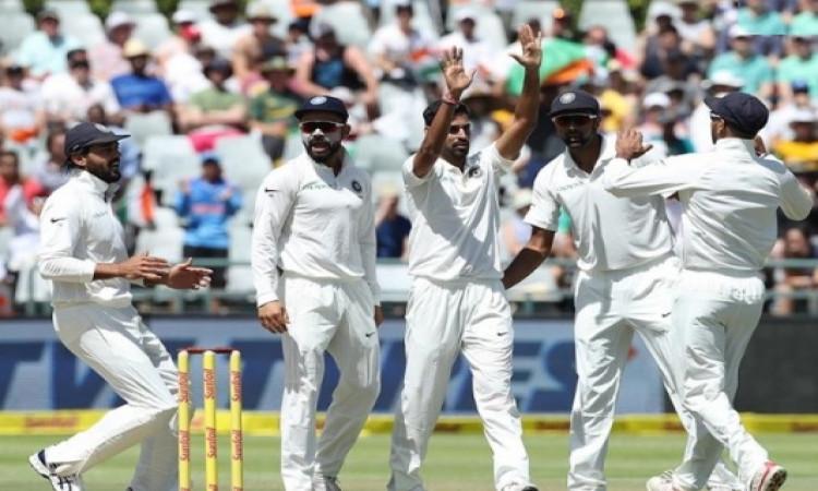 साउथ अफ्रीका के खिलाफ टेस्ट सीरीज के लिए भारतीय टीम का ऐलान इस दिन होगा, जानिए डिटेल्स ! Images