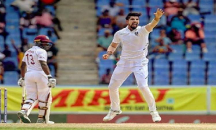 वेस्टइंडीज के खिलाफ टेस्ट सीरीज में शानदार परफॉर्मेंस करने वाले इशांत शर्मा ने ऐसा  बयान देकर चौंका