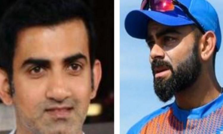 गौतम गंभीर ने कहा, विराट कोहली के बेहतर कप्तान बननें के पीछे इन दो दिग्गजों का रहा है हाथ Images