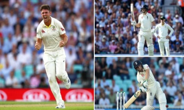 मिशेल मार्श ने अपने टेस्ट करियर में पहली बार किया ऐसा कारनामा, इंग्लैंड पहली पारी में  294 रन हुई आउ
