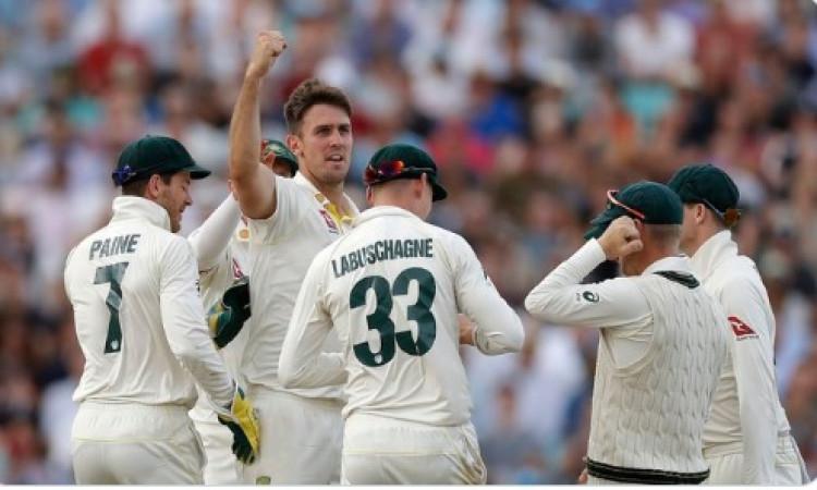 लंदन टेस्ट : इंग्लैंड पहली पारी में 294 पर सिमटी, मिशेल मार्श ने चटकाए 5 विकेट Images