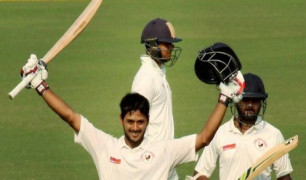 Panchal hits ton as match against SA 'A' ends in draw Images