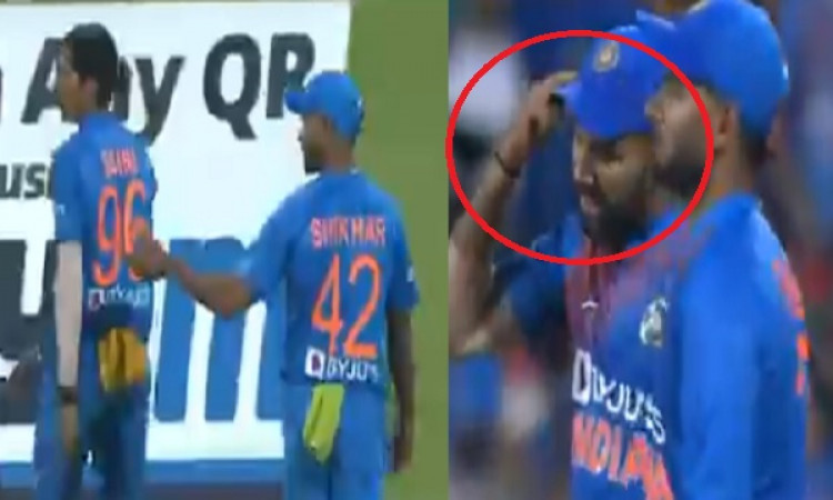 VIDEO साउथ अफ्रीका के खिलाफ तीसरे टी-20 में रोहित शर्मा ने ऐसी हरकत कर नवदीप सैनी को लगाई थी फटकार I