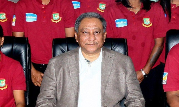 BCB president Nazmul Hassan