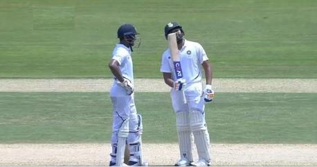 रोहित शर्मा की ताबड़तोड़ बल्लेबाजी, टेस्ट में बतौर ओपनर जमाया पहला शतक Images