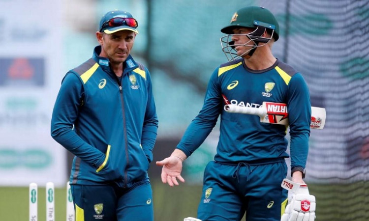 David Warner and Justin Langer