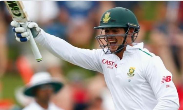 क्विंटन डि कॉक ने खेली शतकीय पारी, ऐसा करने वाले साउथ अफ्रीका के पहले विकेटकीपर/ बल्लेबाज बने Images