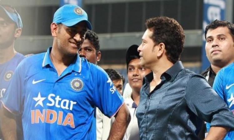 क्रिकेट फैन्स के लिए बड़ी खबर, धोनी, सचिन से वायरस का खतरा ! Images