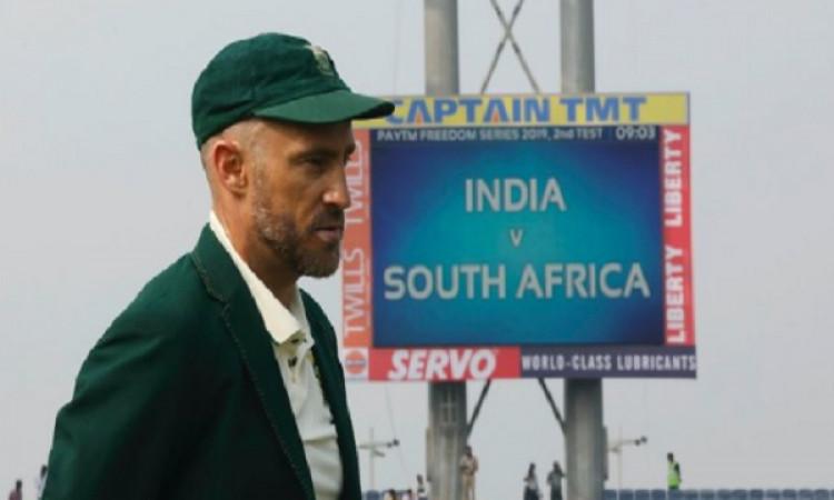 डु प्लेसिस ने टीम से कहा, रांची टेस्ट में पहली पारी में ऐसा करना ही होगा, तभी पार पाएंगे भारत से ! I
