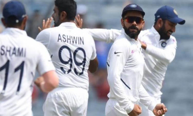 जीत के बाद कोहली बोले- भारत में 5 टेस्ट सेंटर होने चाहिए, तभी आएगा टेस्ट क्रिकेट का असली मजा ! Image