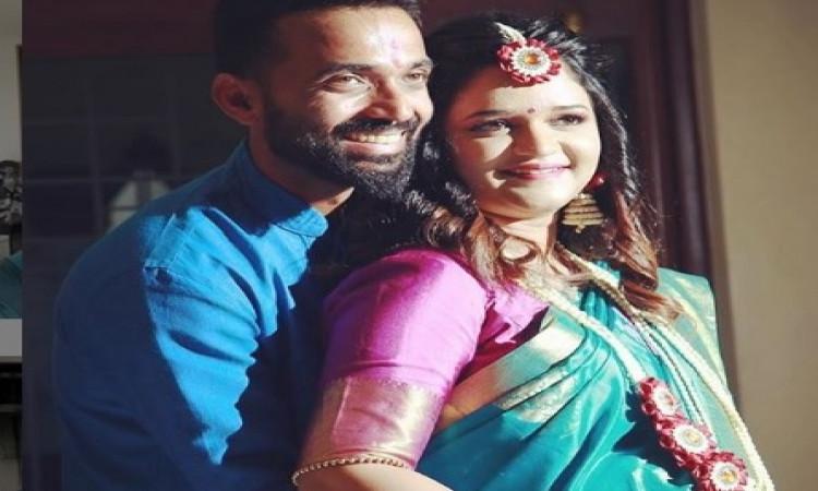 रहाणे बने पिता, पत्नि राधिका ने दिया बेटी को जन्म Images