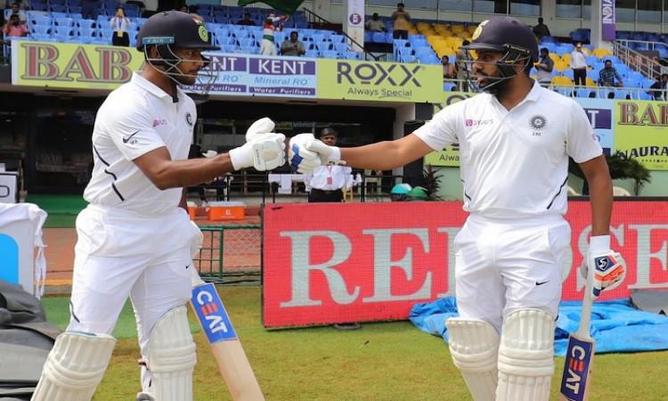 Rohit Sharma and Mayank Agarwal