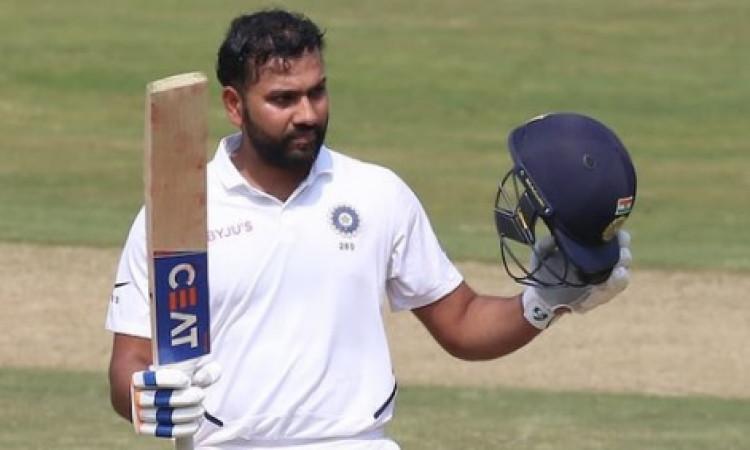विशाखापट्टनम टेस्ट: बारिश के कारण नहीं हो सका आखिरी सत्र का खेल, लेकिन रोहित शर्मा की पारी ने जीता द