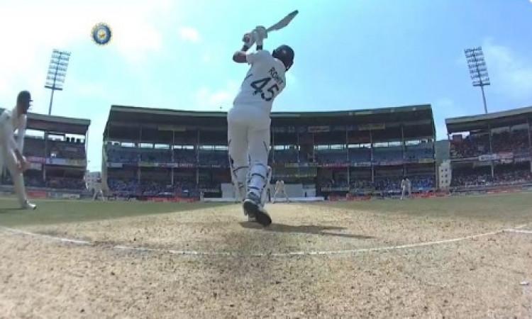 रोहित शर्मा ने जमाया अर्धशतक, टेस्ट में बतौर ओपनर ठोका पहला पचासा Images
