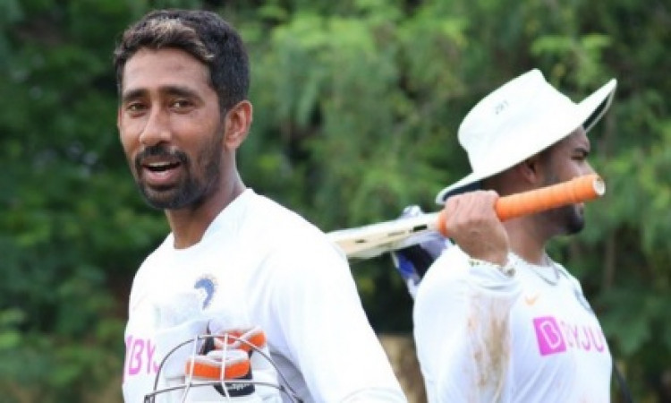 Will try to make it 3-0 this time: Wriddhiman Saha Images