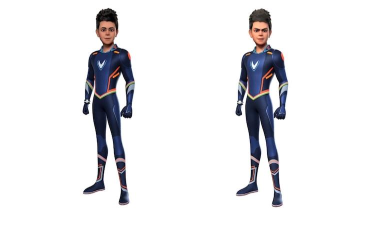 Virat Kohli animated superhero avatar