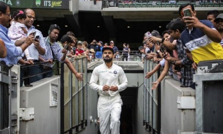 पहले टेस्ट में भारत ने 203 रनों से साउथ अफ्रीका को हराया, बतौर कप्तान कोहली ने बनाया यह रिकॉर्ड Imag