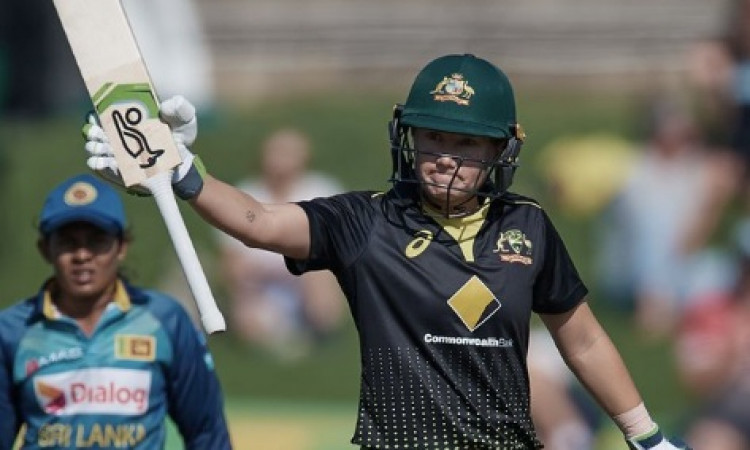 Australia's Alyssa Healy sets new record in women's T20Is Images