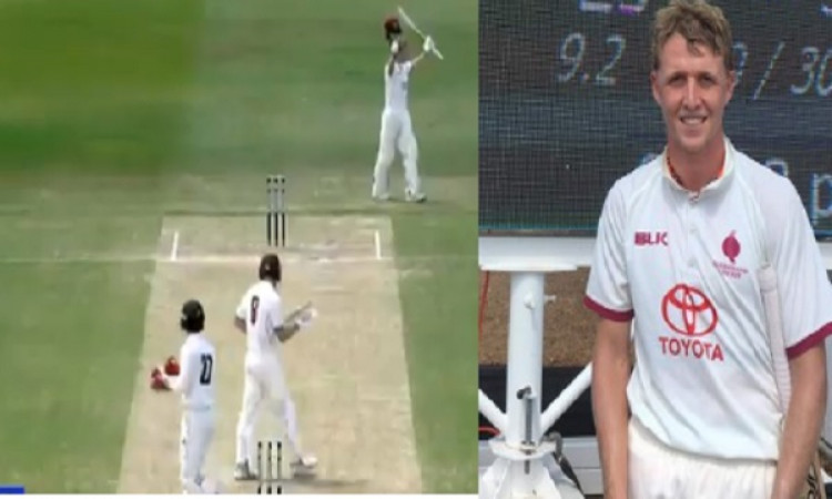 इस बल्लेबाज ने खेली तूफानी पारी, 45 चौके जमाकर बनाए अकेले 345 रन, बना ऐतिहासिक रिकॉर्ड !! Images