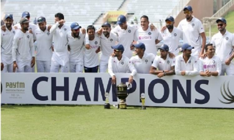 Cricket fraternity hails Kohli & boys' historic win over SA Images