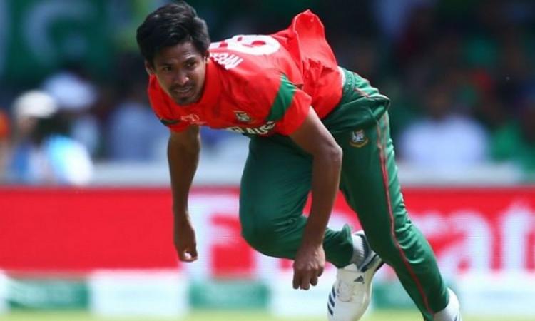 भारत दौरे के लिए बांग्लादेश की टीम में शामिल होने से पहले मुस्तफिजुर रहमान को फि Images