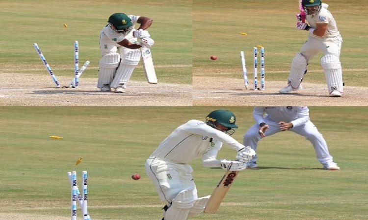 Vizag Test: भारत को जीत के लिए केवल 2 विकेट की दरकार, मोहम्मद शमी और जडेजा की घातक गेंदबाजी Images