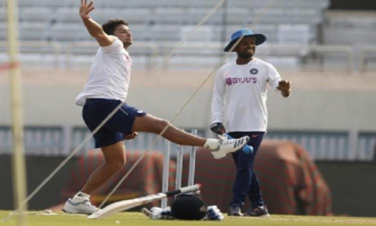 Ranchi Test: Nadeem joins squad as Kuldeep complains of shoulder pain Images