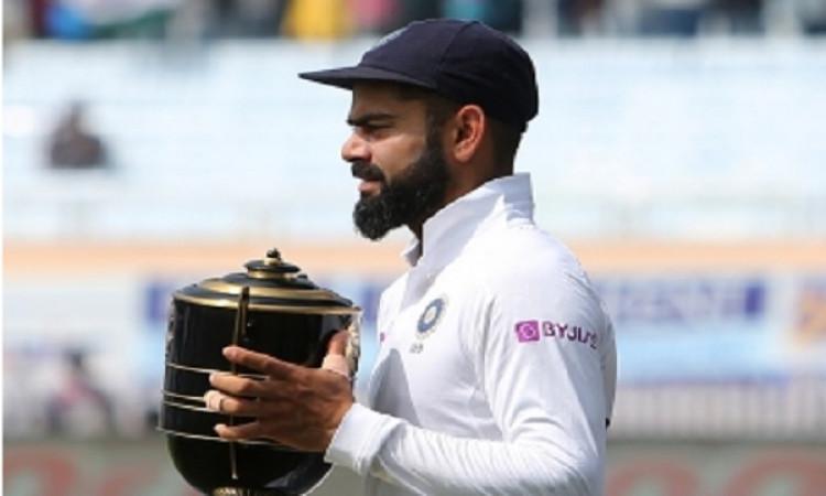 कोहली ने कहा, एक टीम के रूप में हमने जिस तरह का प्रदर्शन किया है, वह गर्व की बात' Images