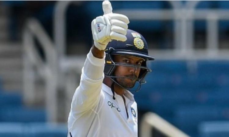 विशाखापट्टनम टेस्ट: भारत ने 7/502 रनों पर घोषित की पहली पारी, मंयक अग्रवाल और रोहित शर्मा का धमाका I