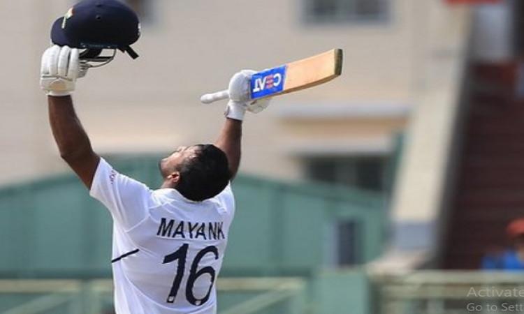 मयंक अग्रवाल ने दोहरा शतक जमाकर बनाए यह खास रिकॉर्ड, ऐसा करने वाले केवल चौथे भारतीय बल्लेबाज Images