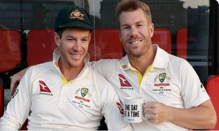 Paine backs struggling Warner to regain Test form Images