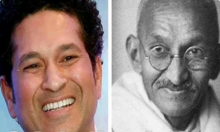 Take Gandhi's teachings to younger generation: Tendulkar Images