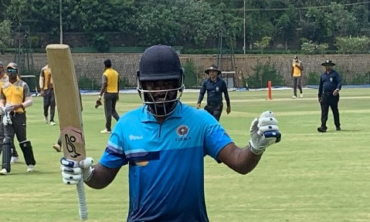 Samson becomes 6th Indian to score List A double ton Images