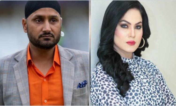 Harbhajan, Veena engage in war of words on Imran speech Images