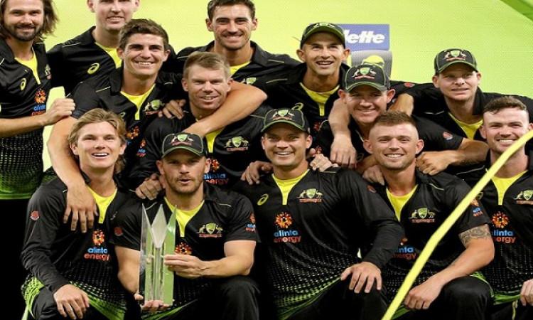 Australia register 10-wkt win in 3rd T20I against Pakistan Images