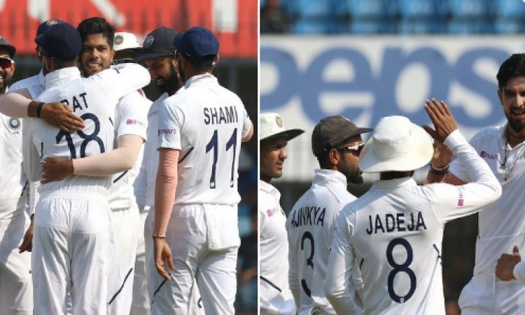 Shami takes two as India leave B'desh reeling on Day 3 (Lunch) Images